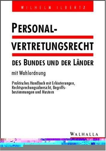 Download Personalvertretungsrecht des Bundes und der Länder