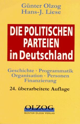 Die politischen Parteien in Deutschland